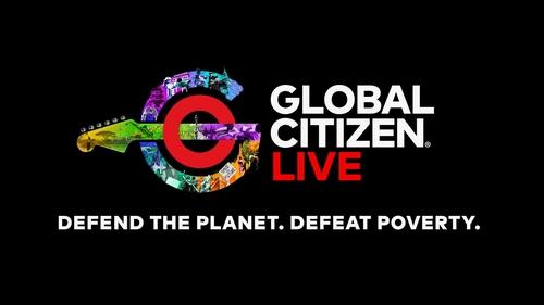 世界公民演唱会宣传图 Global Citizen官网截图(图片严禁转载复制)