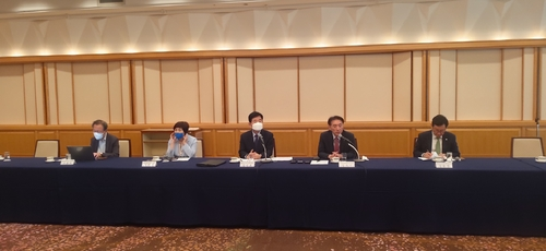 韩国议员团:韩日议员就促成首脑会谈现温差