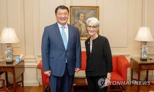 美国副国务卿温迪·谢尔曼将相继访问韩日