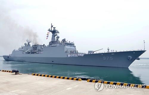韩赴亚丁湾护航舰载有5名未接种疫苗者
