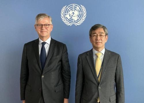 韩外交部与联合国维和行动部举行高层磋商