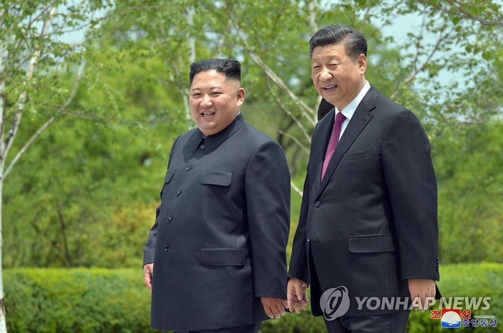 韩统一部:金正恩致信习近平是朝中首脑交流的一环