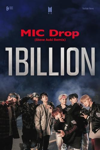 防弹《MIC Drop》混音版MV优兔播放量破10亿