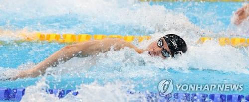 韩选手黄宣优挺进东奥100米自由泳决赛 创亚洲纪录