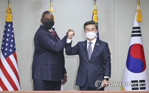 韩美防长通电话或讨论联演