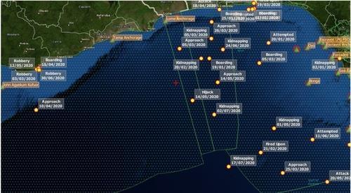 在西非海域遭绑架四名韩国船员获释