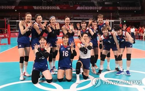 东京奥运韩国4日综合:女排晋级四强 棒球惜败日本