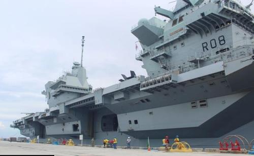 消息:韩英商定取消英舰队停靠釜山港计划