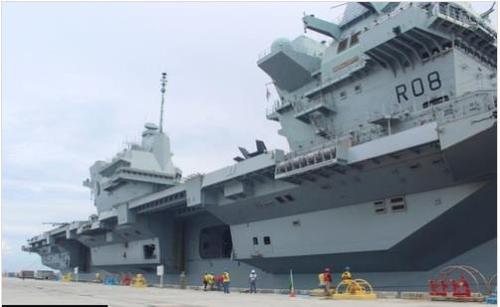 英航母将不停靠釜山 在东海与韩军联演