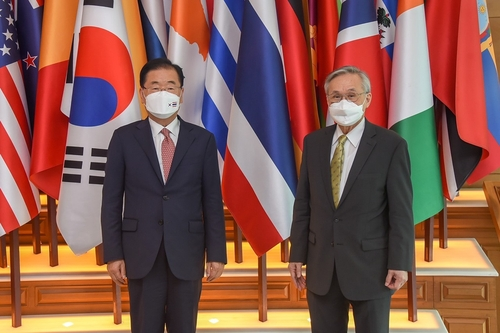 韩泰外长在曼谷举行会谈