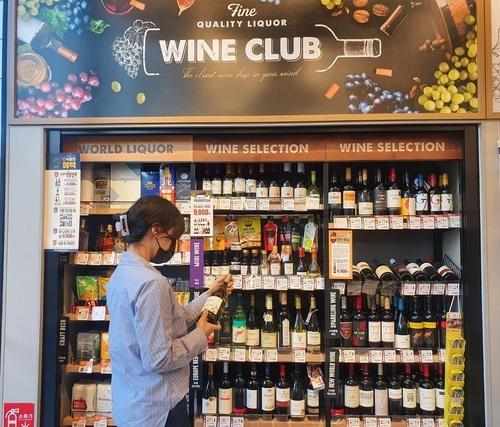 韩各大便利店葡萄酒销售纷纷刷新最高纪录