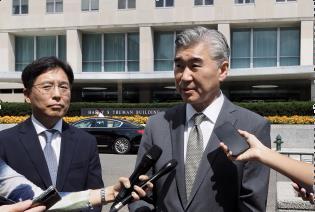 韩美对朝代表共商对朝人道主义援助合作