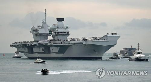 韩英在韩国东海实施搜救和机动演练