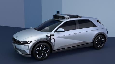 现代汽车电动机器人出租车2023年在美上路