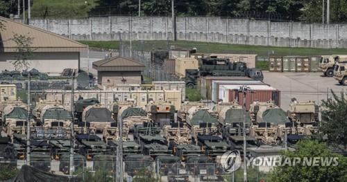 详讯:韩政府称美方修法无裁减驻军意图