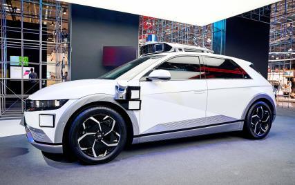 现代汽车艾尼氪5的机器人出租车 现代汽车供图(图片严禁转载复制)