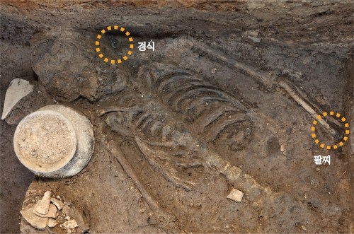 新罗王宫月城遗址发现人祭新证据