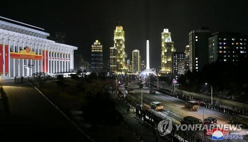 消息:朝鲜举行阅兵式纪念建政73周年