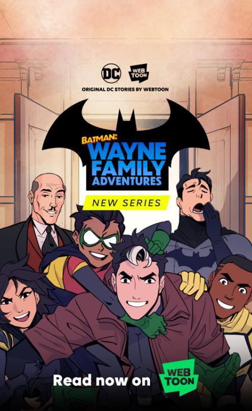 NAVER携手DC漫画推《蝙蝠侠》原创网漫