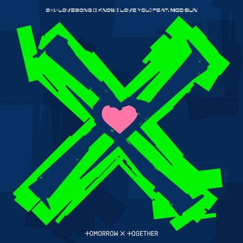 TXT携手美歌手莫德森推《0X1=LOVESONG》混音版
