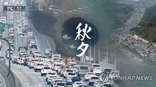 调查:近八成韩国人今年中秋就地过节