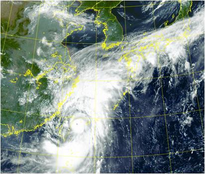 """台风""""灿都""""下周或影响韩国"""