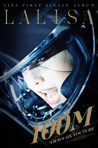 LISA个人首曲MV播放超亿 创K-POP歌手最快纪录