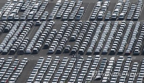 韩8月汽车内销出口中新能源车约占四分之一