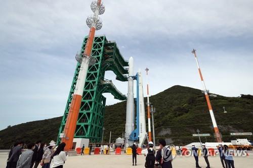 韩自制固体燃料运载火箭拟2024年发射升空