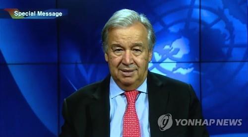 联合国秘书长祝贺韩朝同时加入联合国30周年
