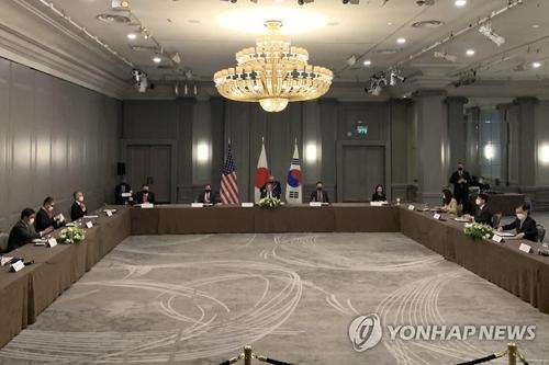 韩美日外长联大期间将在纽约举行会谈