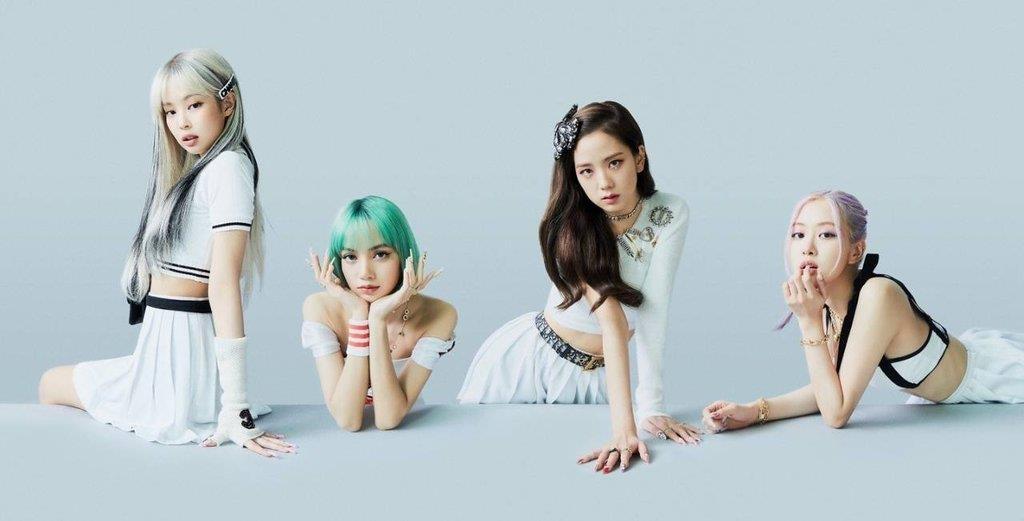 资料图片:BLACKPINK 韩联社/YG娱乐供图(图片严禁转载复制)