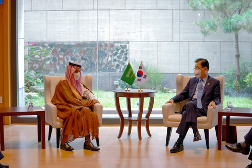 韩外长分别会见沙特和埃及外长
