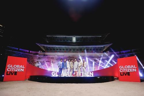 防弹少年团出演全球慈善直播演唱会