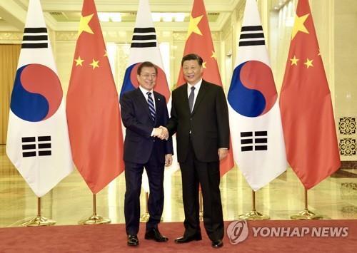 韩驻华使馆:韩中领导人互访取决于疫情形势
