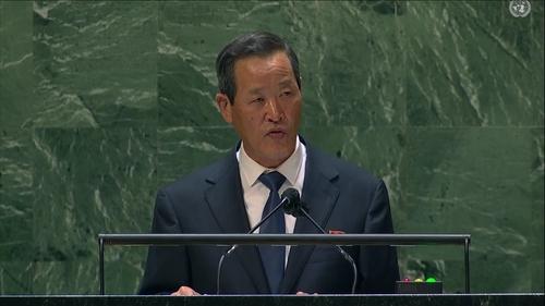 详讯:朝常驻联合国代表吁美放弃敌朝政策