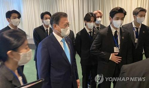 韩青瓦台:已支付防弹少年团联大活动经费