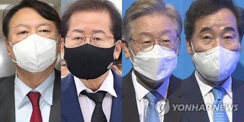 民调:韩下届总统人选民望李在明稳居首位