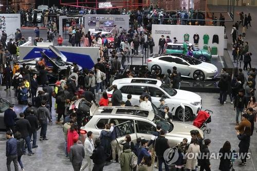 """首尔车展更名为""""首尔出行展览会"""""""
