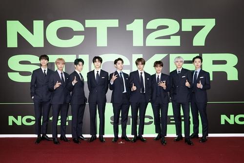 NCT 127 韩联社/SM供图(图片严禁转载复制)
