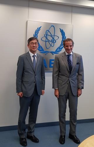 韩外交部协调官会见国际原子能机构总干事
