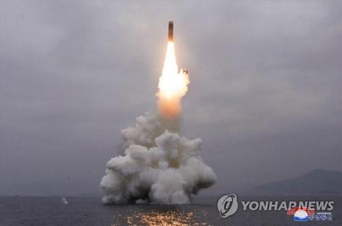 简讯:朝鲜从东海岸新浦发射1枚弹道导弹