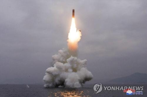详讯:朝鲜试射弹道导弹 韩军研判系潜射导弹