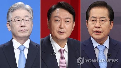 民调:韩总统人选两强对决李在明领先尹锡悦