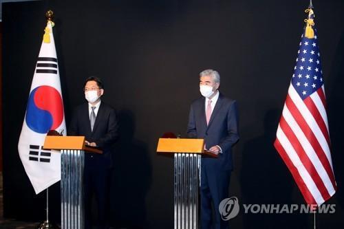 美国国安顾问:韩美就对朝措施看法趋同存异