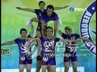 《无限挑战》成员挑战全运会健美操比赛