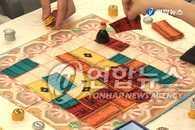 韩国桌面游戏大赛在清溪广场举行
