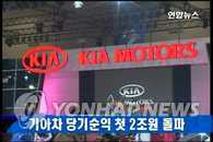 起亚汽车去年净利润首次突破2万亿韩元
