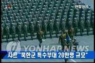夏普:朝鲜军拥有20万规模的特战部队