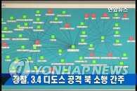 警方:上月发生的DDos攻击源头是朝鲜